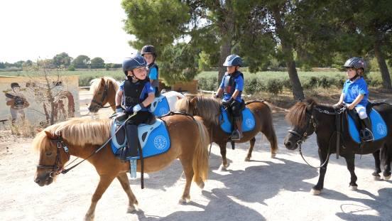 campamentos de equitación zaragoza hípica