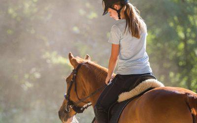 ¿Cómo montar a caballo?