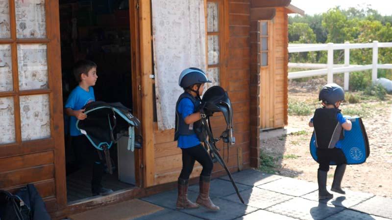 Guadarnes equitación